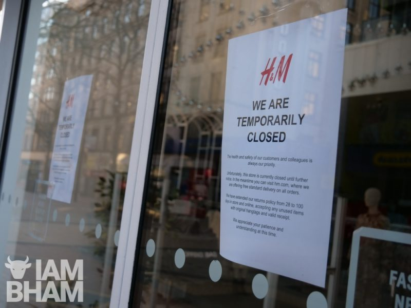 Only essential shops and businesses will be open during the lockdown