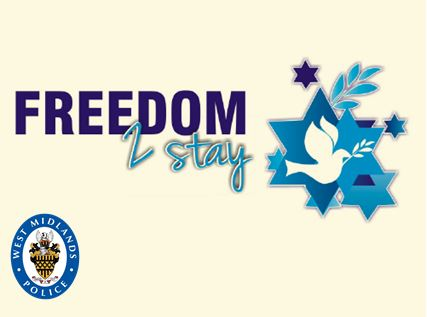 The 'Freedom to Stay' charity logo