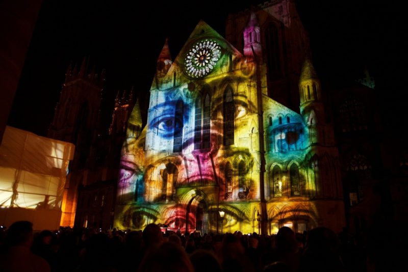 3D projection mapping and light projection on buildings are potential ideas for Birchfield's Light Night