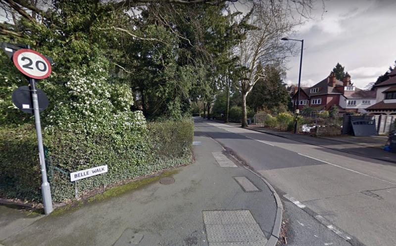Tamer Moustafa's murder spree took place in Belle Walk in leafy Moseley, Birmingham