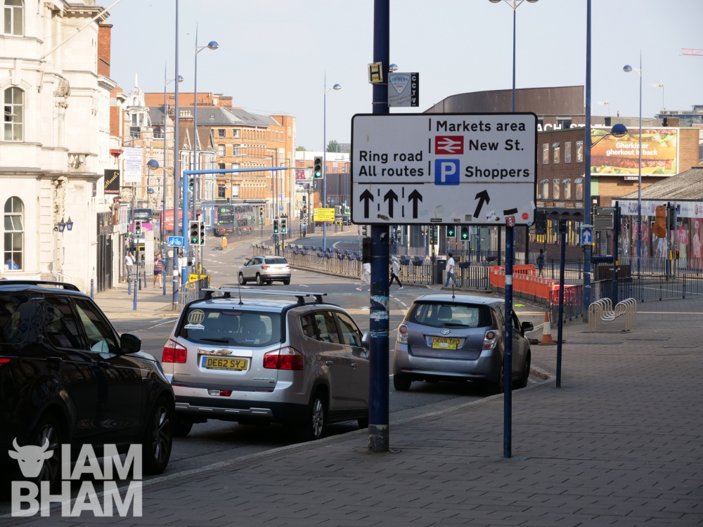New restricted parking zone to be introduced in Digbeth from tomorrow