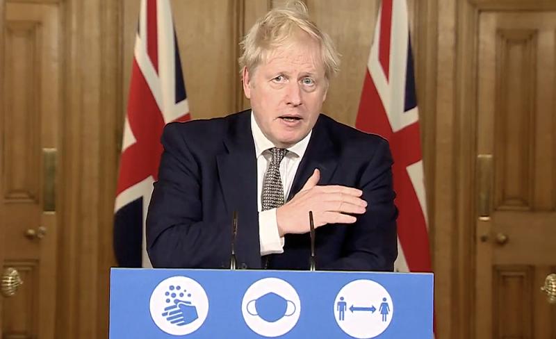 Boris Johnson announces second England lockdown, due to begin on Thursday 5 November 2020