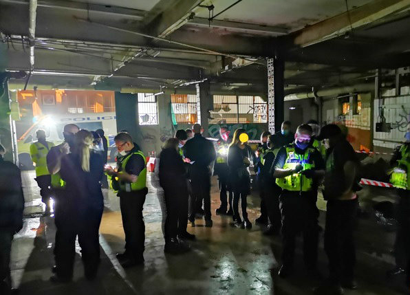 Over 100 lockdown violation fines issued as illegal rave broken up in Digbeth