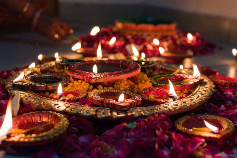 Diya tealights are a key part of Diwali, the 'Festival of Lights'