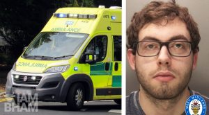 "Coventry thug jailed for ""sickening"" attack on student paramedic, breaking his jaw"