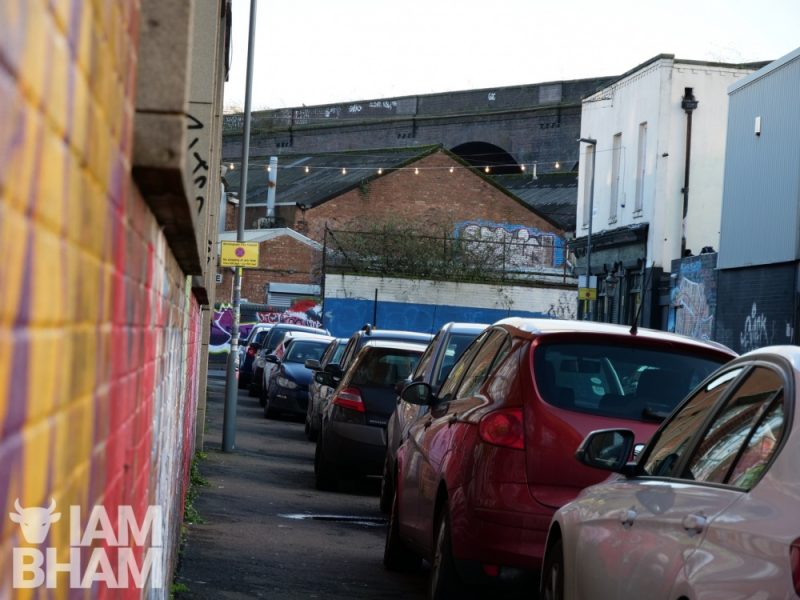 The Digbeth scheme is a mixture of permit parking for local residents and workers
