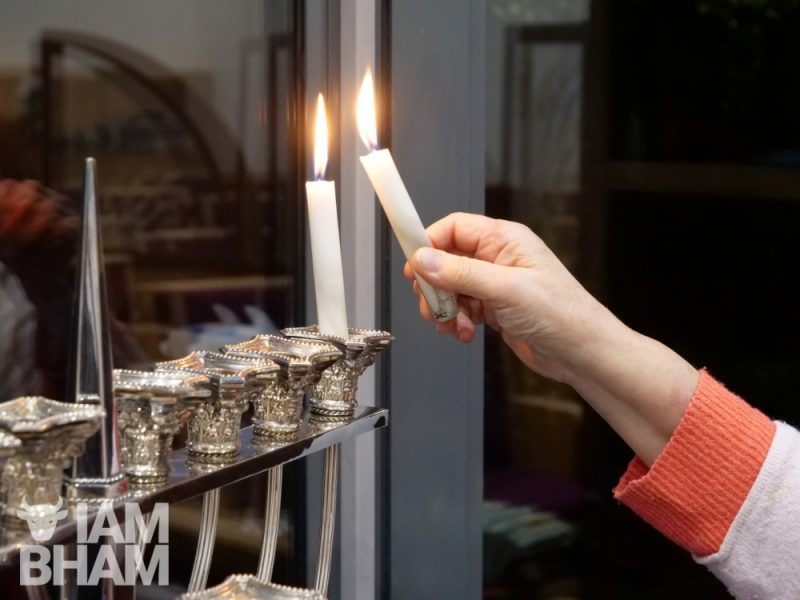 Menorah lights, oil or candle based, are lit each of the eight nights of Hanukkah