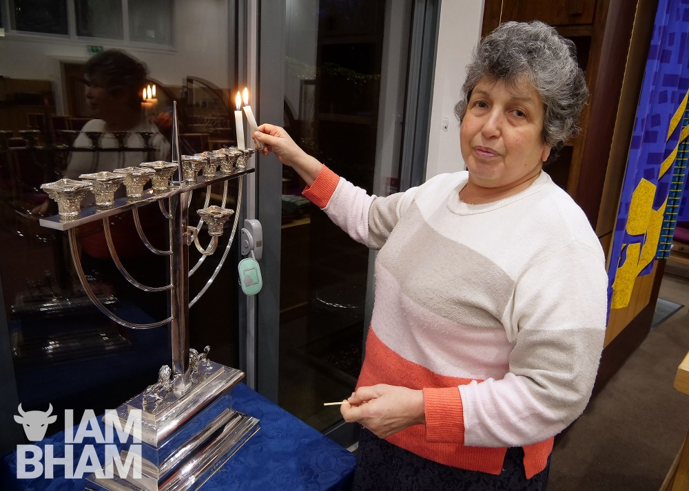 Hanukkah begins for Birmingham's Jewish community amid COVID-19 restrictions