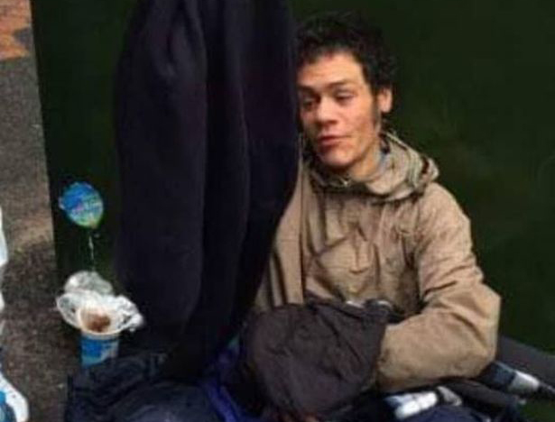 Homeless rough sleeper Kane Walker died on the streets of Birmingham city centre in January 2019