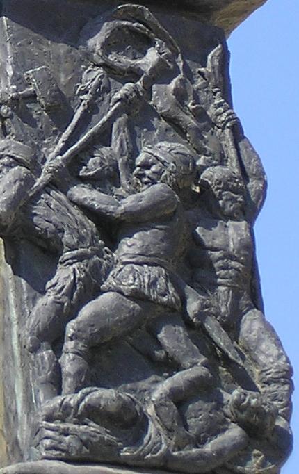 Hanukkah commemorates Maccabee Jews fighting oppression from the Greek Seleucid Empire