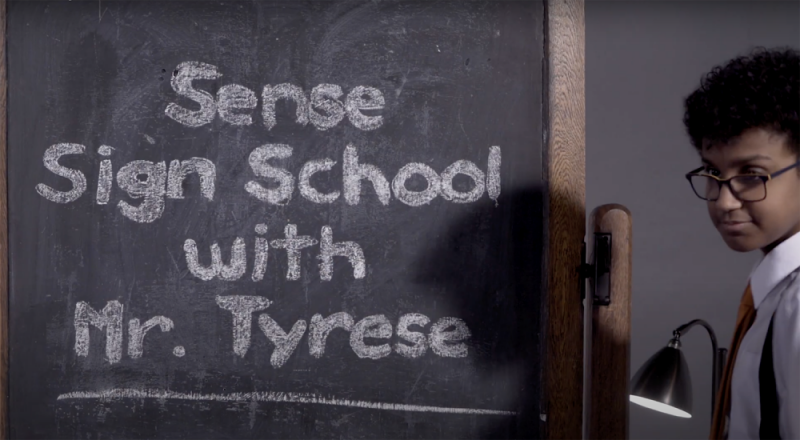 Over 50,000 people have benefited from Tyrese Dibba's virtual BSL lessons