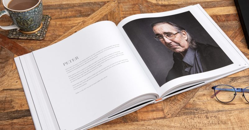Background notes in the book provide details about the people which adds depth to their stories