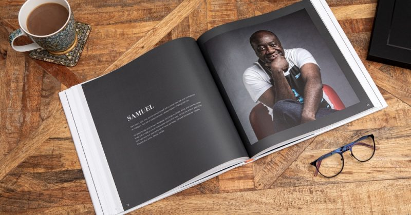 The book provides witty and warm portraits of people who have endured hardships