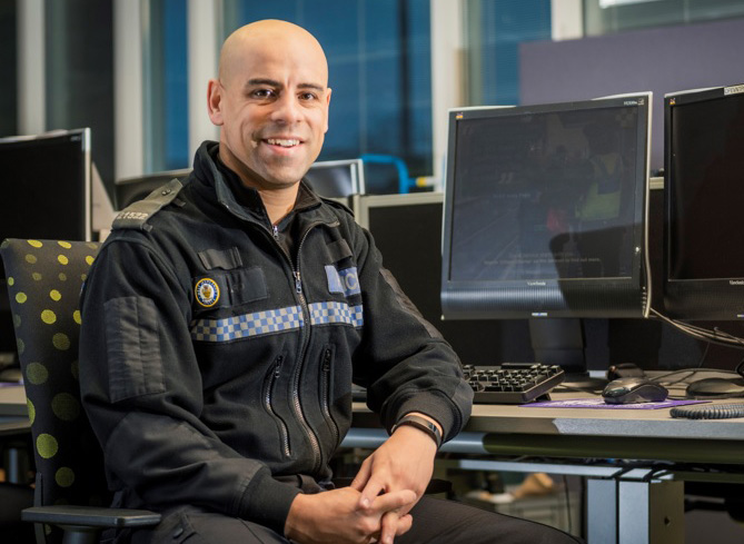 Stuart Ward has been a West Midlands Police response officer for 12 years