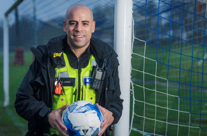 West Midlands Police appoint PC Stuart Ward as the UK's first football hate crime officer