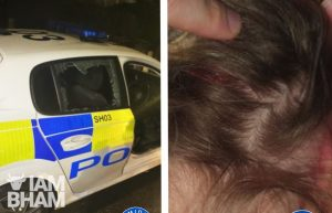 Police appeal after officer injured by brick thrown through cop car window in Chelmsley Wood