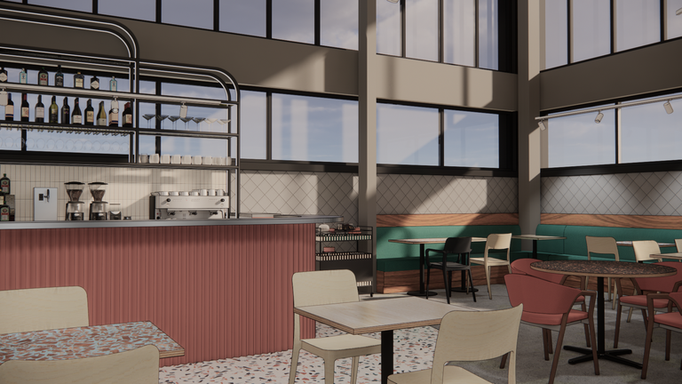 KILN will be the new cafe and restaurant experience at the Birmingham MAC