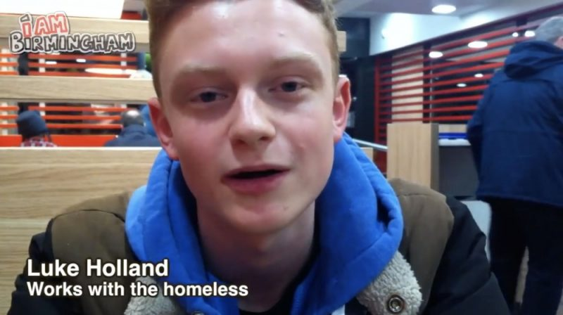 """Self-proclaimed """"community activist"""" Luke Holland is standing in the council elections as a candidate in the Birmingham Moseley and Kings Heath ward"""