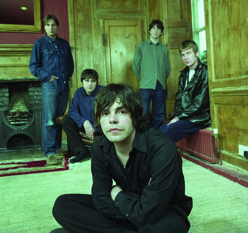 The Charlatans, pictured here in 1999, had 13 top 40 studio albums and 22 top 40 singles