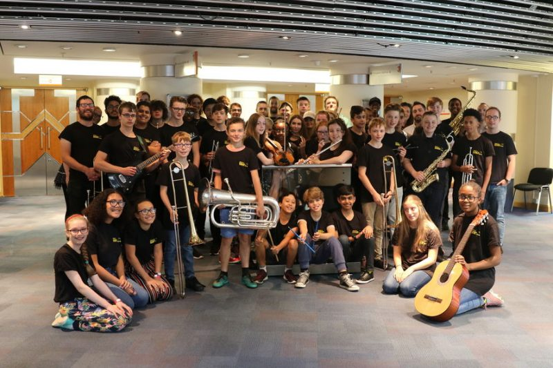 Jazzlines Summer School is open to young musicians from Birmingham and surrounding areas aged between 11 and 19