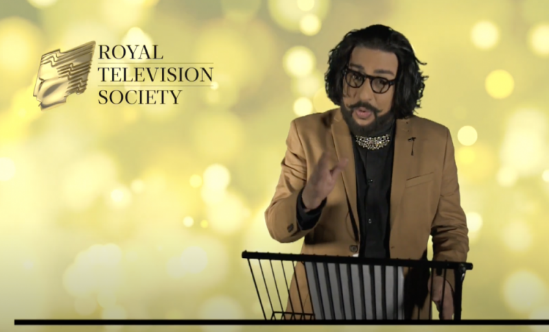 BBC Asian Network presenter Bobby Friction presented the RTS Midlands Student Television Awards 2021