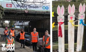 Sutton Coldfield residents adopt Wylde Green railway station to encourage local pride