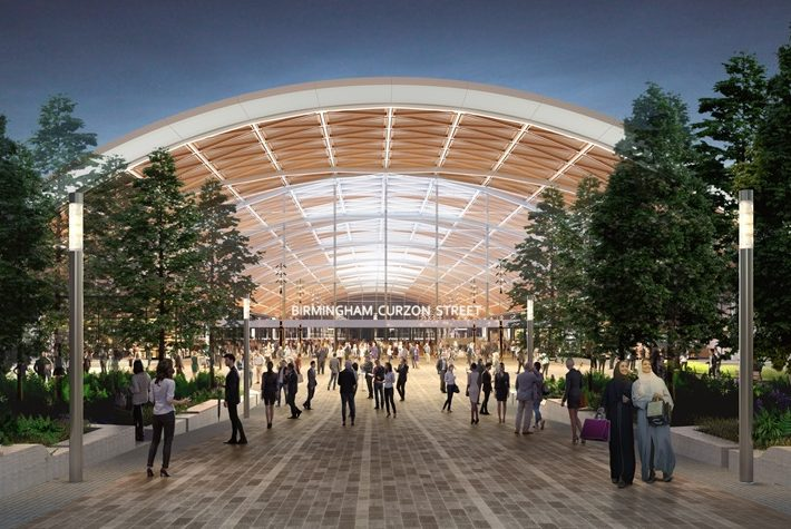 Birmingham Curzon Street Station is at the heart of the HS2 project