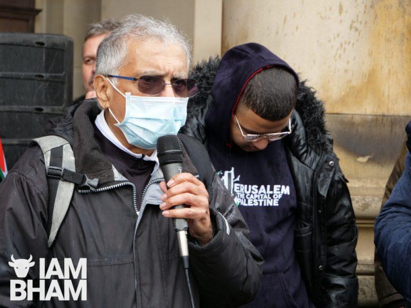 Naeem Malik from Palestine Solidarity Campaign