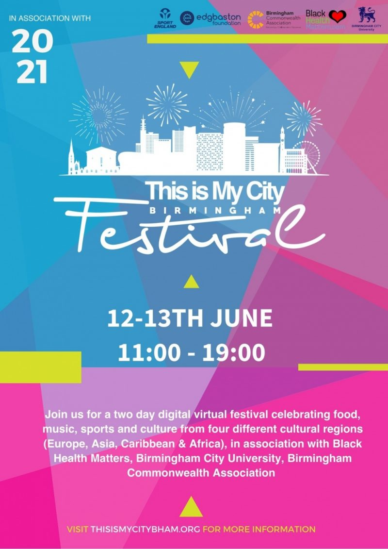 'This Is My City' is a Birmingham festival celebrating strength in diversity