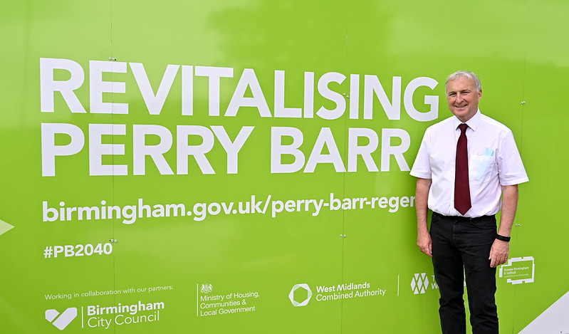 """Birmingham City Council leader Ian Ward said Perry Barr has """"untapped potential """""""