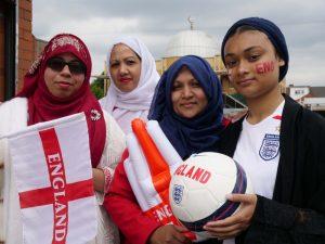 Muslim women back England team as diversity champions ahead of Euro 2020 final