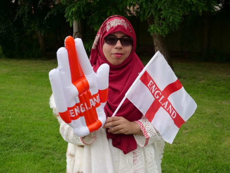 Sadia Sharmin, 37, is English and Italian but says England is more multicultural and accepting