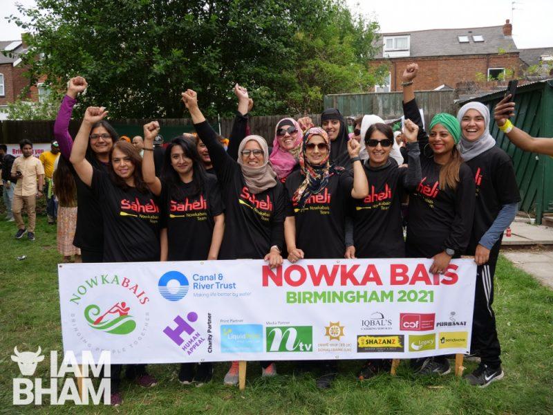 Saheli Hub Birmingham women's boating team