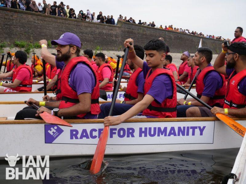 Human Appeal charity boat racing team