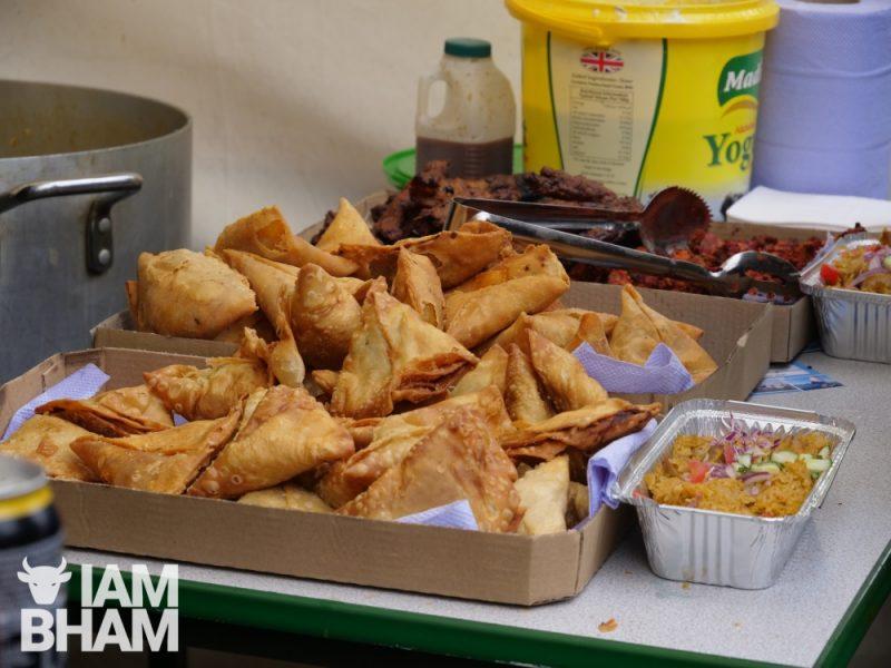 Samosas and Asian snacks