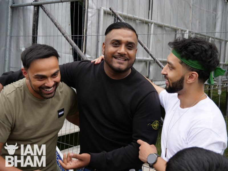 YouTuber and reality TV star Smash Bengali Hashu Mohammed with music artist Iksy