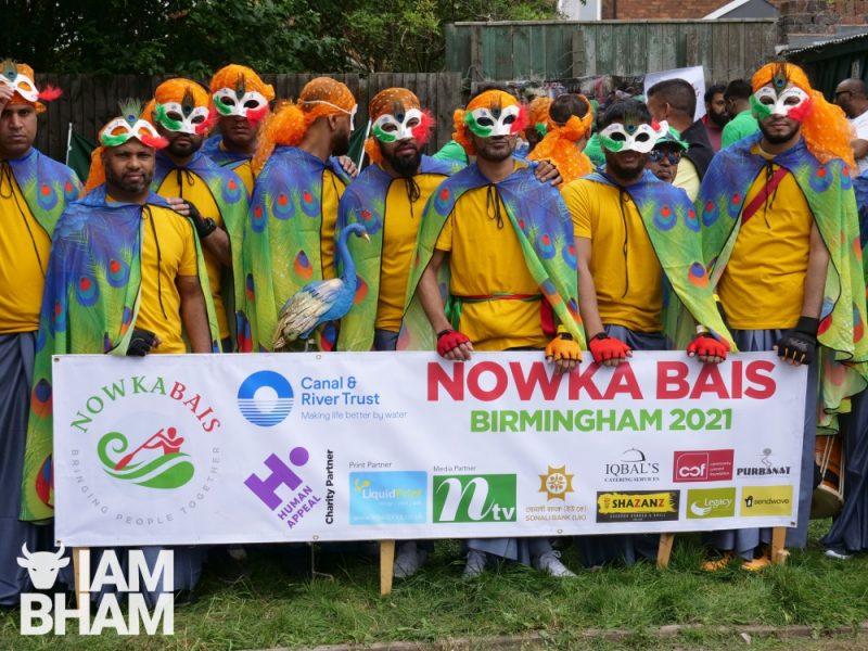 Boat race team at Nowka Bais 2021