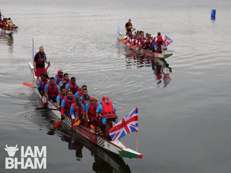 Bangladeshi boat racing in Birmingham