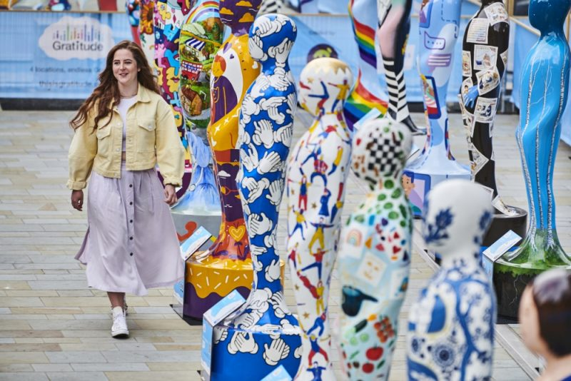 Jessica Perrin is one of the Birmingham artists commissioned to decorate a sculpture