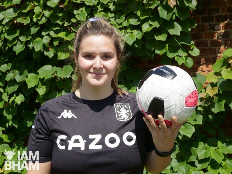 Jen Tullett is the Neighbourhood Engagement Officer at Aston Villa Foundation