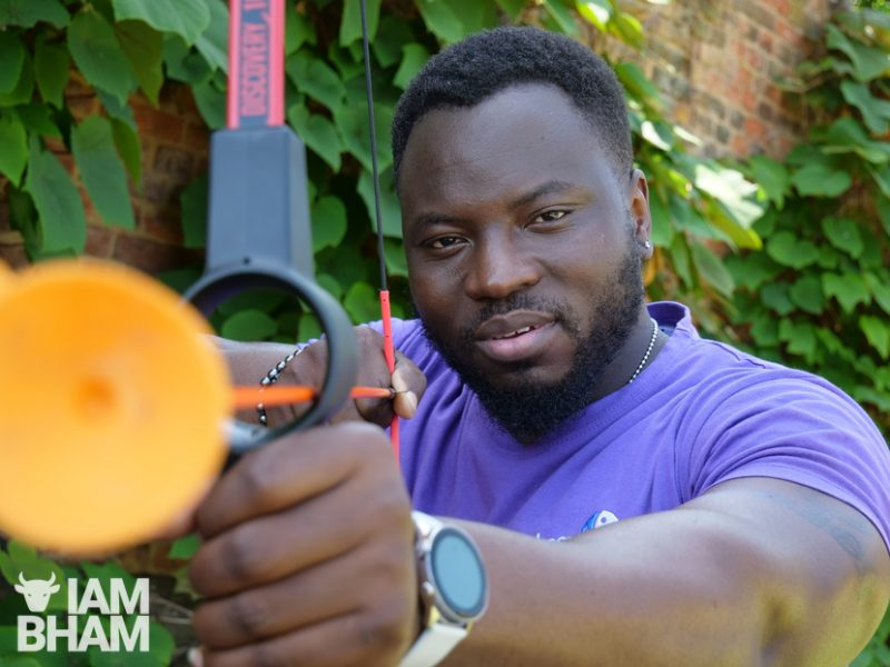 Michael Olajide is a youth worker with Birmingham Settlement in Aston