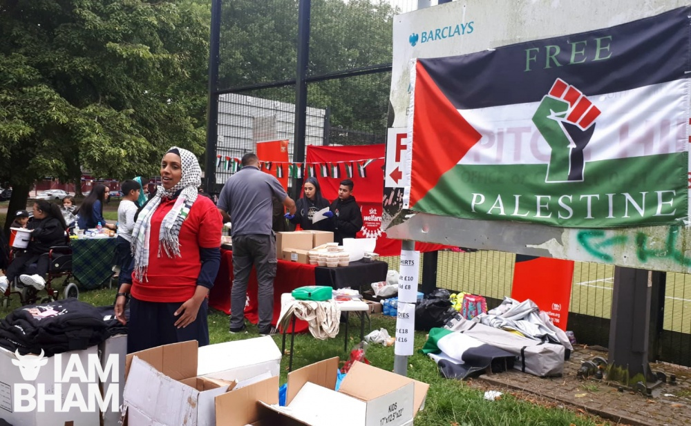 Family fun day held at Aston Park in Birmingham to raise money for Palestinian children