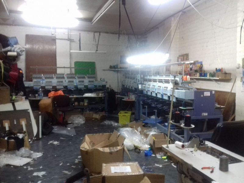 Photographs showed a disorganised setup inside the Hockley unit