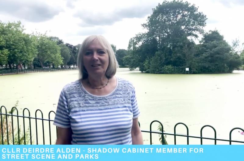 Cllr Deirdre Alden demands urgent action to save wildlife in Small Heath Park
