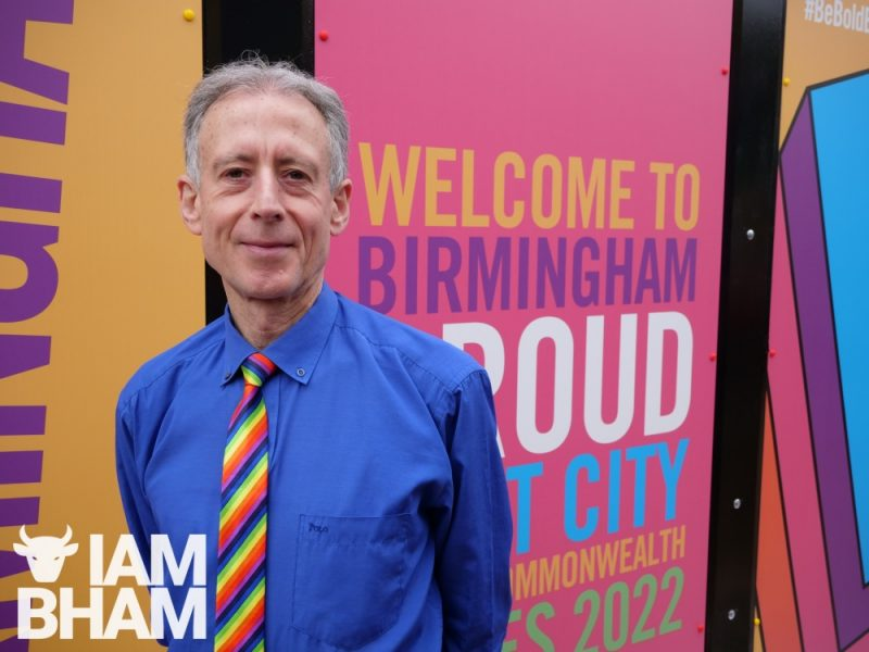 Peter Tatchell supported Birmingham Pride but was critical of West Midlands Police taking part