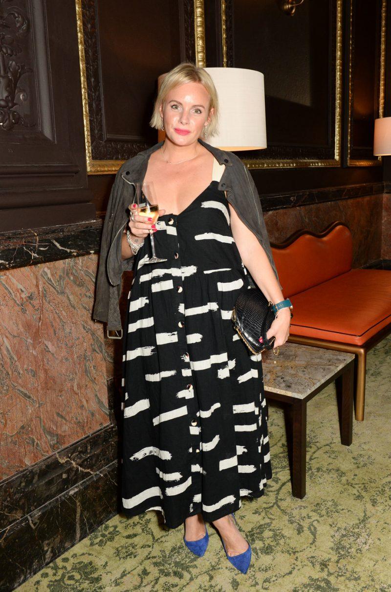 LONDON, ENGLAND - SEPTEMBER 09: Lauren Crace attends the launch party for the Grand Hotel Birmingham on September 9, 2021 in London, England. (Photo by David M. Benett/Dave Benett/Getty Images for The Grand Hotel Birmingham)