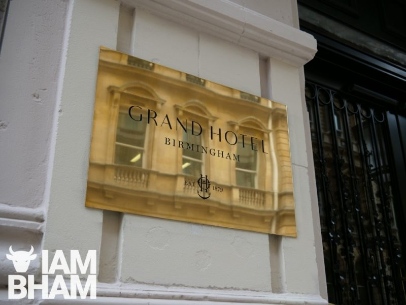 Grand Hotel Birmingham is located in leafy Colmore Row