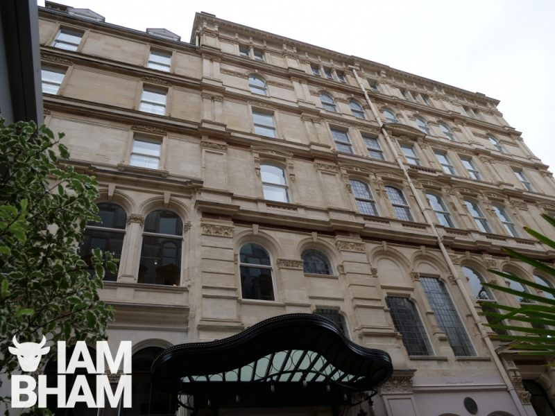 Grand Hotel Birmingham has 185 guest rooms and suites